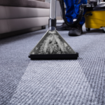 Commercial carpet cleaning deep cleaning carpet with professional-grade carpet cleaning machine