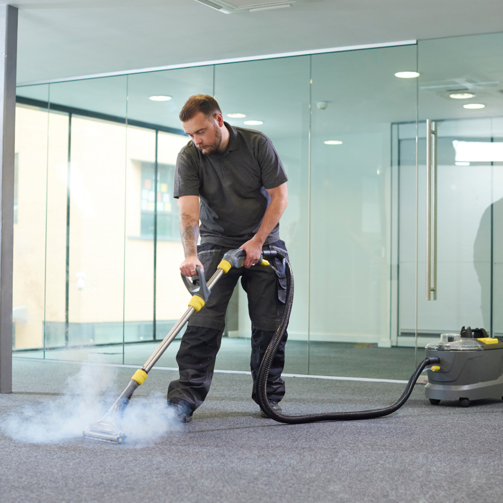 office commercial carpet cleaning